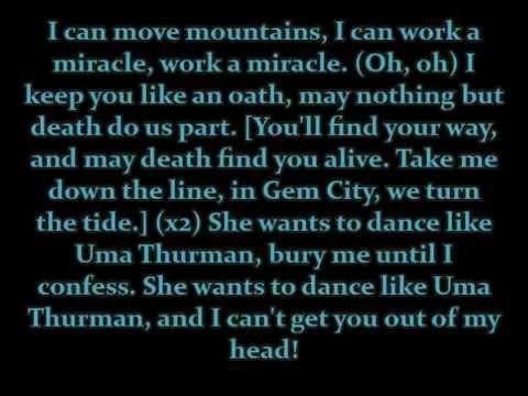 "Fall Out Boy - ""Uma ... Uma Thurman Lyrics"