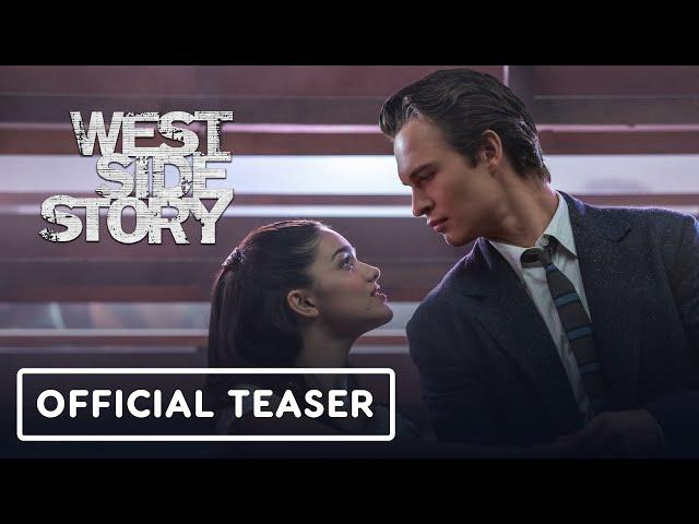 Steven Spielberg's West Side Story - Official Teaser Trailer (2021) Ansel Elgort, Rachel Zegler