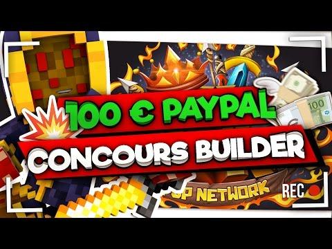 100€ PAYPAL POUR LES MEILLEURS BUILDERS ! +(DESC)