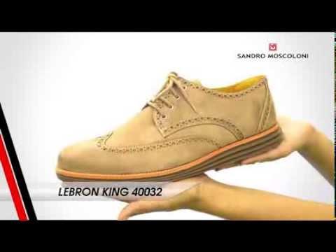 458994966 Sapato Em Couro Sandro Moscoloni Lebron King - YouTube