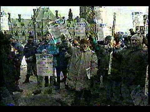 Media coverage of the 1997 CUPW strike.