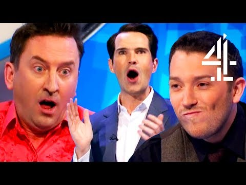 Lee Mack STUNS EVERYONE With His 9-Letter Word!! | 8 Out Of 10 Cats Does Countdown | Lee Mack Pt. 1