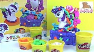 Пластилин Плей До Туалетный Столик Play Doh Rarity Style & Spin. Май Литл Пони на Русском