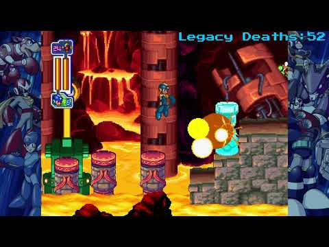Mega Man Legacy Collection 2 Playthrough Pt.22- Sword Man Stage |