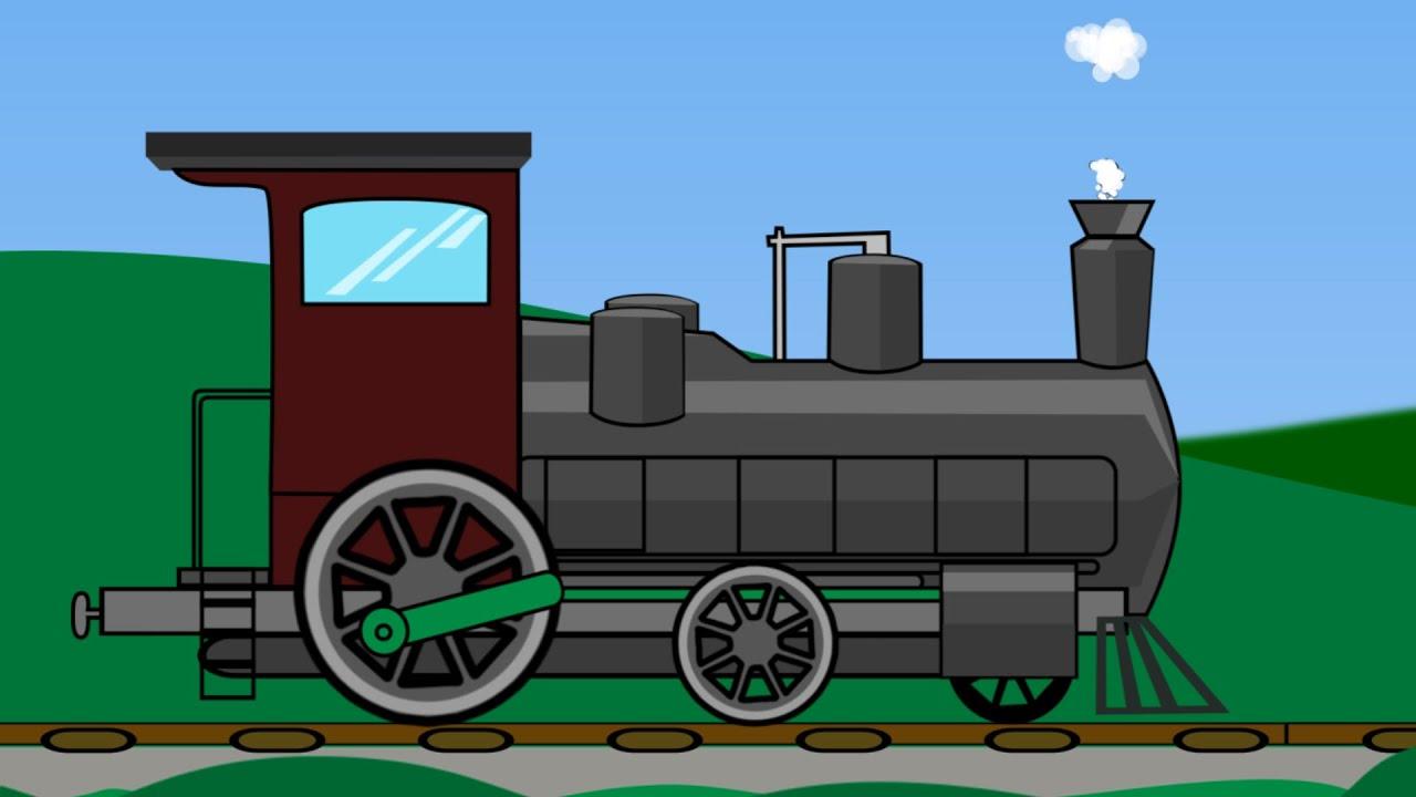 Train | Train Uses | Steam Engine - YouTube