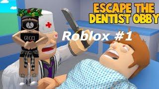 Roblox Entfliehen Sie dem Zahnarzt spelen & Survive the disaster .