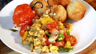 How To Cook Jamaican Ackee & Salt Fish WITH Fried Dumplings Sunday Morning Love !!
