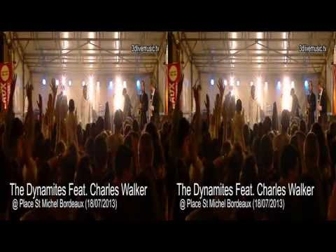 The Dynamites Feat. Charles Walker @ Place St Michel Bordeaux (18/07/2013)