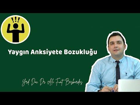 YAYGIN ANKSİYETE BOZUKLUĞU (Belirtileri, Tedavisi ) - Yrd. Doç. Dr. Ali Fuat Beşkardeş