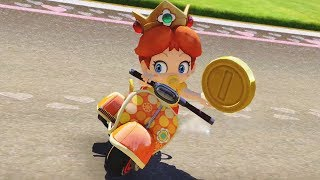 Mario Kart 8 Deluxe - Banana Cup 100cc (Baby Daisy Gameplay)