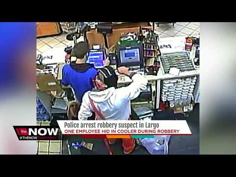 Largo Police arrest armed robbery suspect leaving convenience store