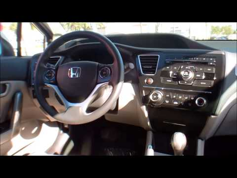 2013 Honda Civic Coupe LX Manual Transmission