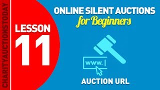 Video Free Online Silent Auctions Lesson 11 - Auction URL download MP3, 3GP, MP4, WEBM, AVI, FLV November 2018