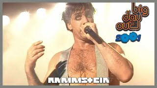 Rammstein - LIVE at Big Day Out Festival, Sydney (2001) | [Pro-Shot] [HQ] 1080p