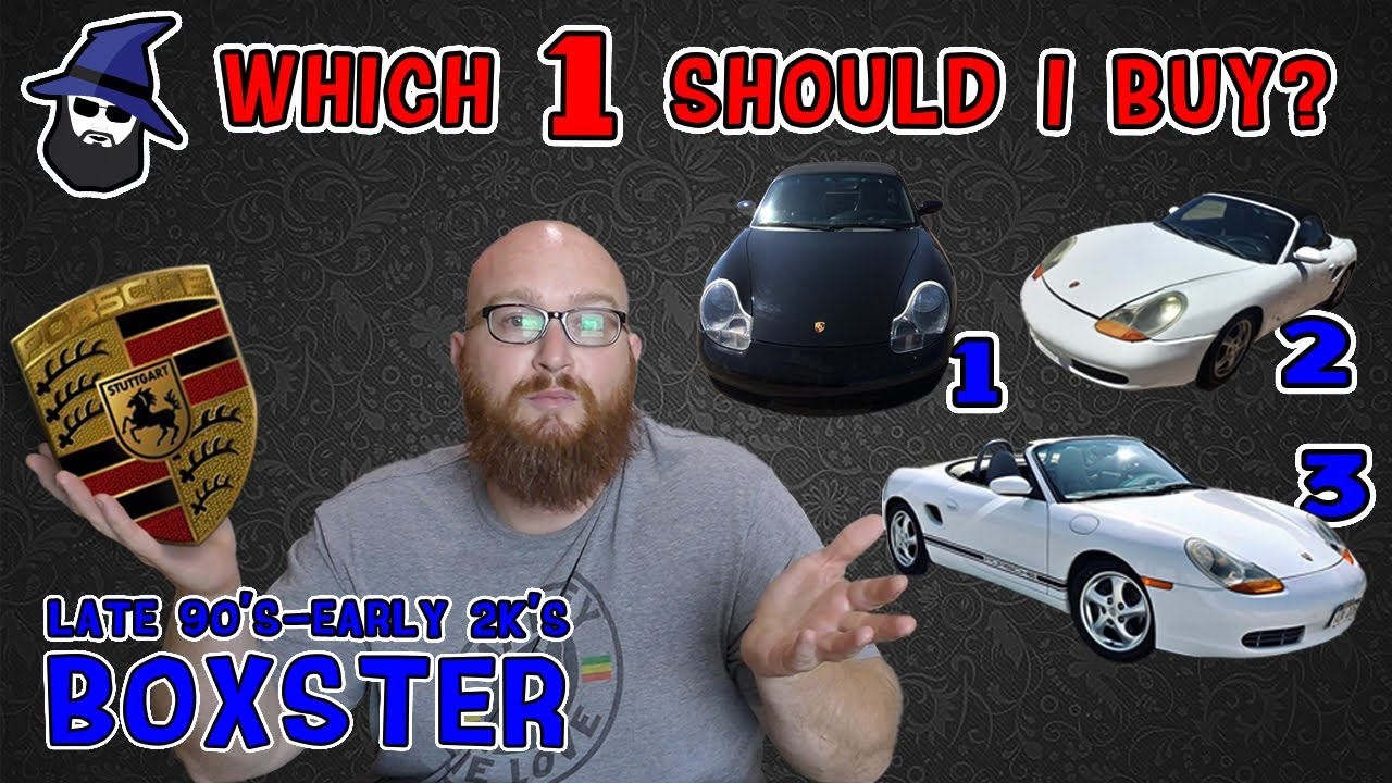Which should I buy? PORSCHE BOXSTER Edition! See what the CAR WIZARD looks for & looks out for