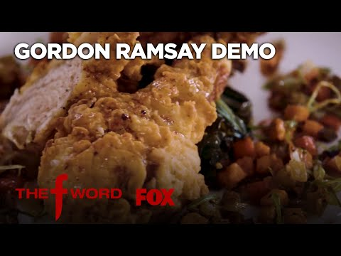 Panko-Crusted Chicken Hot Vegetables