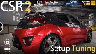 hyundai veloster turbo setup tuning let s play csr racing 2 ios gameplay 1080p fullhd