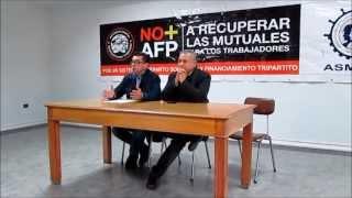 Marcel Claude junto a Dirigentes Sociales, sin mentiras ni falsas promesas 25/05/2013