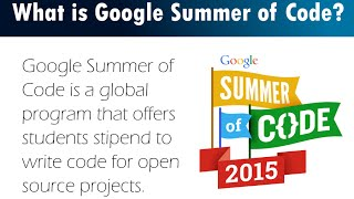 Kick Start - Google Summer of Code 2015 -- Part 2