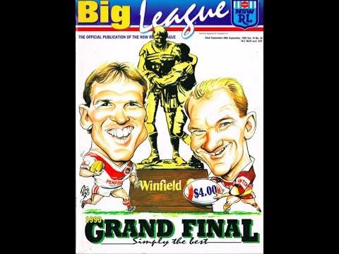 1993 NSWRL grand final: BRISBANE v ST GEORGE at Sydney Football Stadium