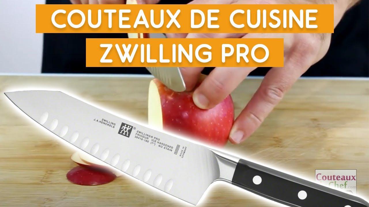 Pr 233 Sentation Des Couteaux De Cuisine Zwilling Pro Youtube