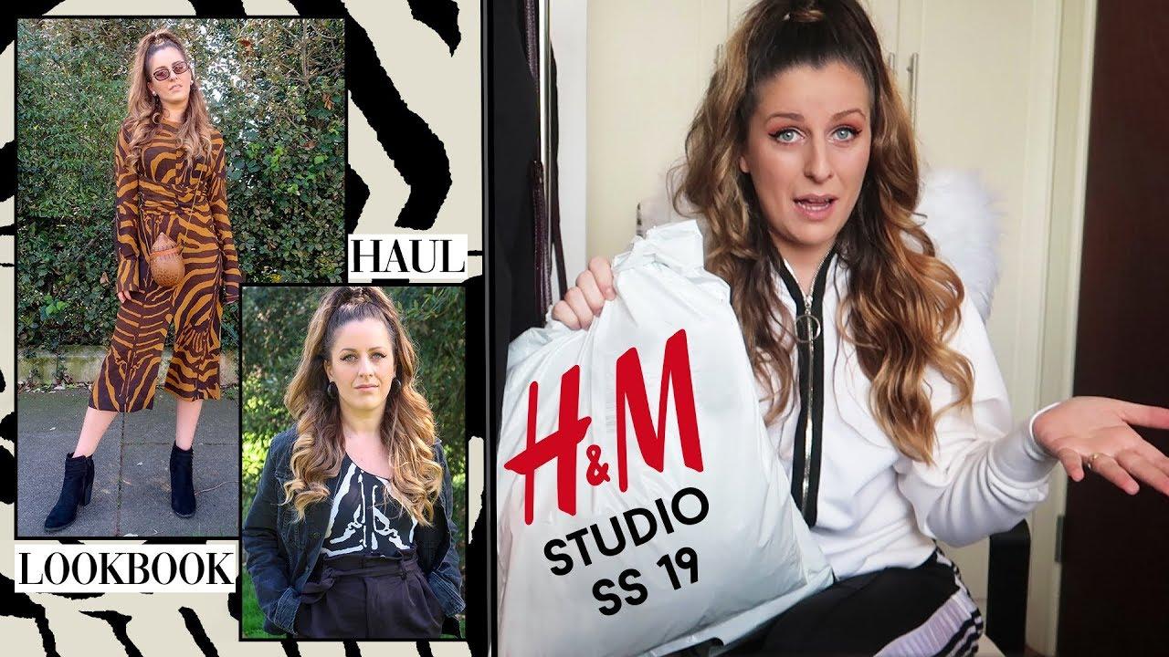H&M STUDIO HAUL & LOOKBOOK   TRY ON HAUL SPRING SUMMER 2019 3