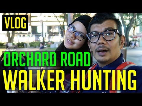 Orchard Road Singapore | Hunt for Adli's walker Fail | Where to go in singapore