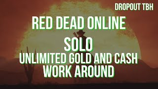 RDR2 ONLINE - SOLO UNLIMITED GOLD AND CASH *PATCHED*