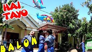 HAI TAYO!  ANAK-ANAK MELEPASKAN BALON TERBANG BUS TAYO | Isi Sendiri Balon Karakter Tayo-Tayo