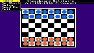 AMIGA CHESSBOARD SOLITAIRE 1993 4 COLIN YARNALL FROM Assassins CD 02 Ultimate Games 1995 Weird Scien