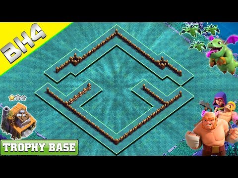 NEW Builder Hall 4 (BH 4) Base 2019 Design With COPY LINK | Clash Of Clans