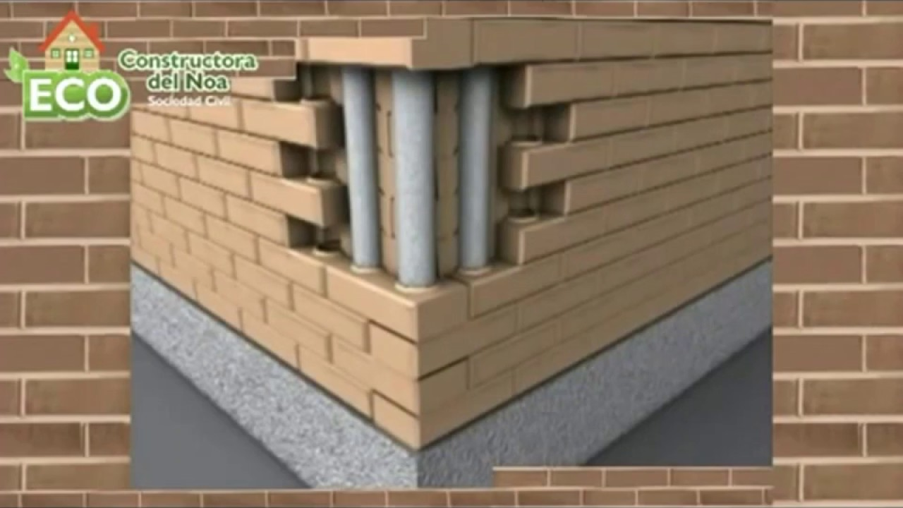 How to build clay house interlocking block house building for How to build a block house