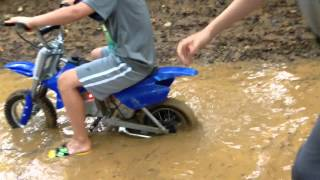 Electric Dirt Bikes: Water Ride & The Pit
