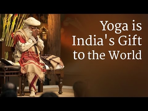 Yoga is India's Gift to the World