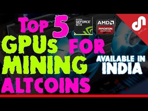 Top 5 Best GPU for Mining ALTCOINS - Best to Mine ETH I ETC I XMR I ZEC I LTC I DGC I QRK