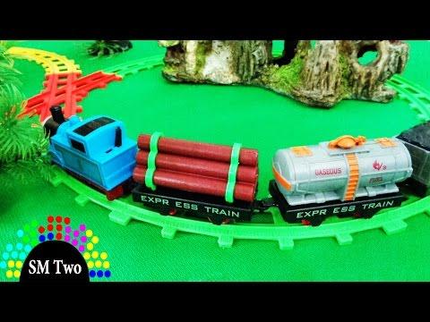 Xe lửa đồ chơi Thomas hoạt hình chạy bánh đà cho trẻ em THOMAS and FRIENDS CARTOON TRAIN   SM Two