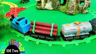 Xe lửa đồ chơi Thomas hoạt hình chạy bánh đà cho trẻ em THOMAS and FRIENDS CARTOON TRAIN | SM Two