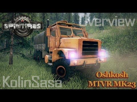 Oshkosh MTVR MK23 wheels v1