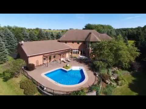 8901 Peck Hill Road- Drone Video LUXURY HOME FOR SALE In Manlius, NY Near Syracuse