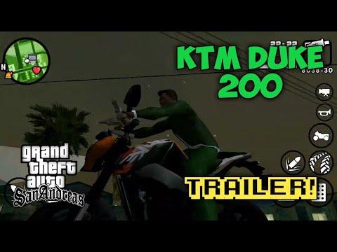 KTM DUKE 200|GTA San Andreas| Android