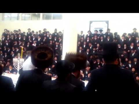 Hanukkah with Tosh Rebbe in Montreal, 8th Night 2013