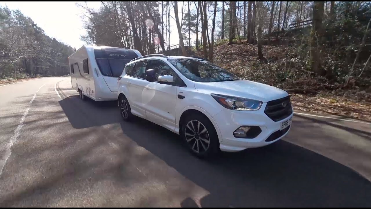 The Practical Caravan Ford Kuga Review Youtube