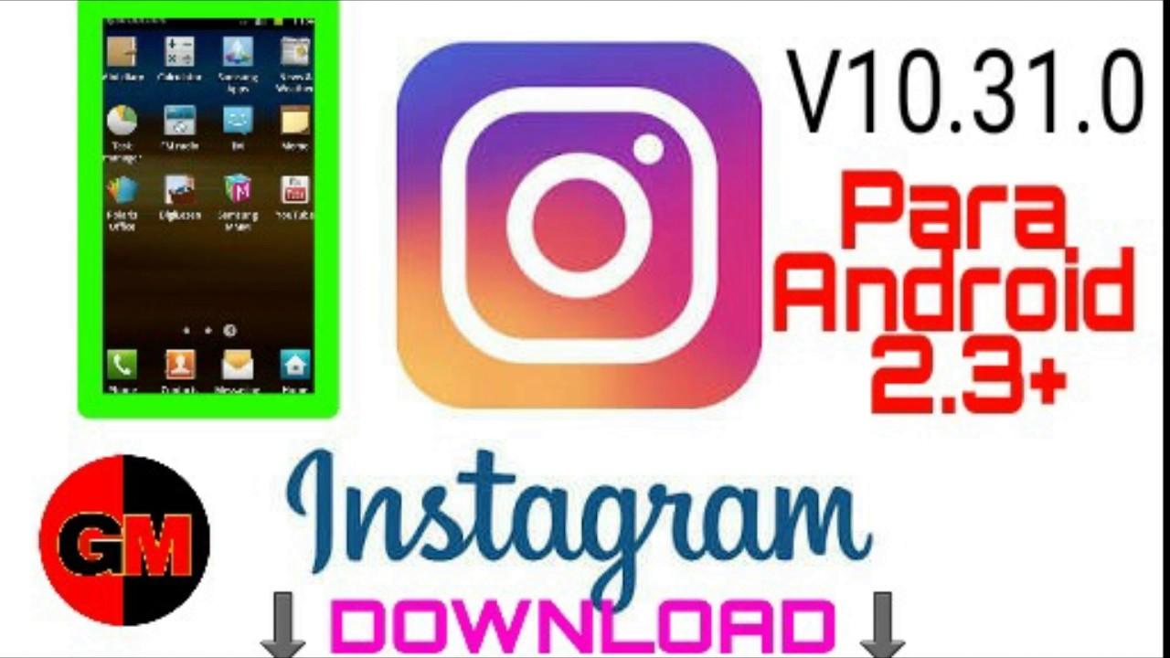 descargar instagram apk para android 2.3.6