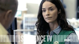 rectify episode 7 clip   amantha and the penny pincher