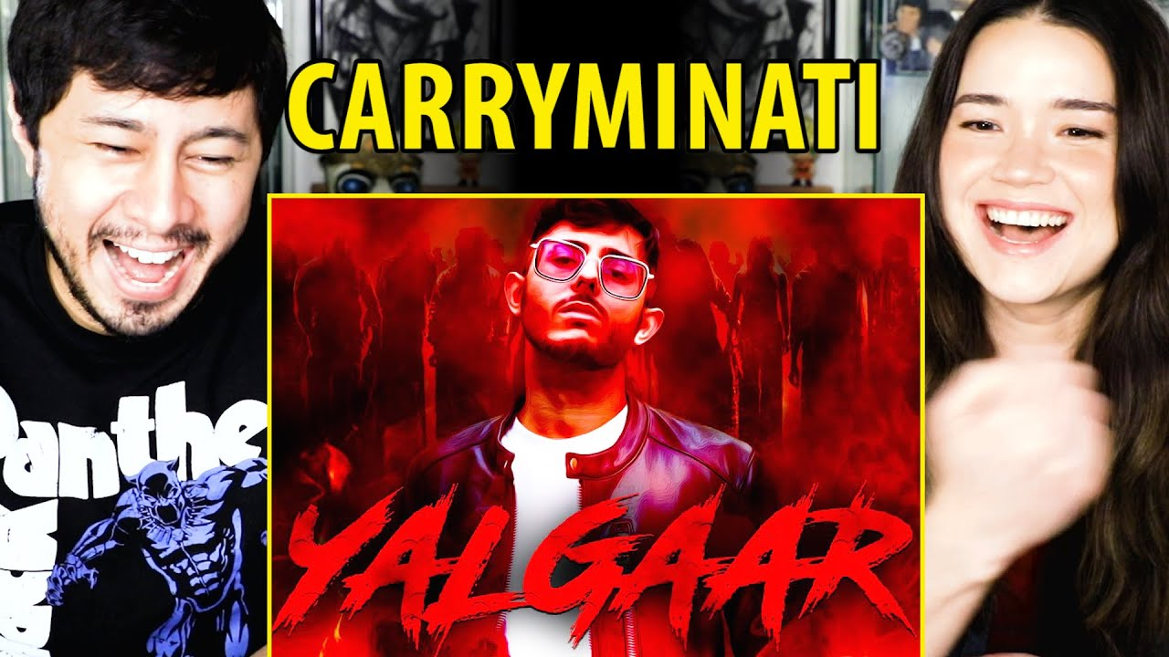 YALGAAR - CARRYMINATI X Wily Frenzy | Reaction | Jaby Koay