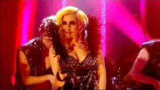 Lady Gaga - Telephone live at Jonathan Ross 2010