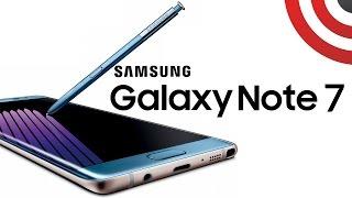 Samsung Galaxy Note 7 - Cena - Prezentacja - Pierwsze wrażenia - Specyfikacja