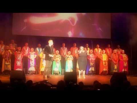 CliffCentral Carols - 'The Prayer' - Gareth Cliff & Noma Khumalo (SA Idols judge & winner)