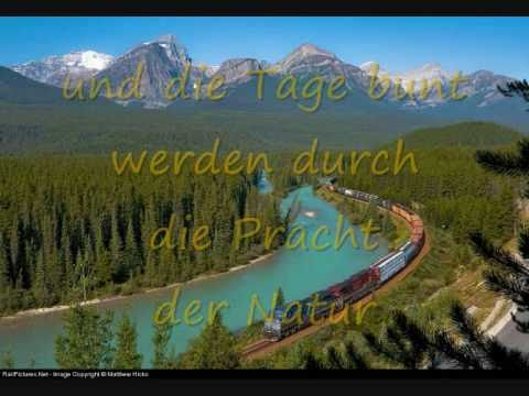 Reise in das Neue Jahr -new year trip on the rail road -