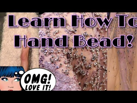 LEARN HOW TO HAND BEAD! - Easy & Simple